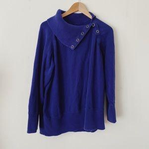 CONTEMPO Beautiful Size Xlarge blue/purple Sweater